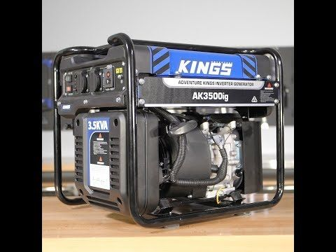 The New 3.5 KVA Generator is the Ultimate Powerhouse in Portable Power Production