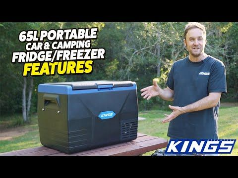Adventure Kings 65L Portable Car & Camping Fridge/Freezer Features