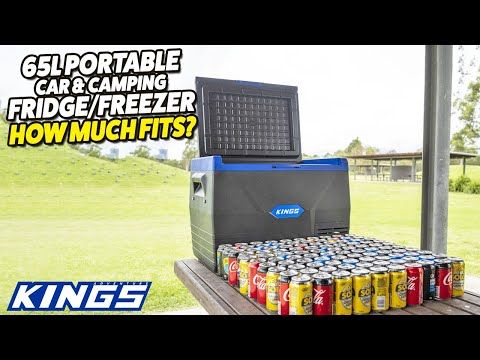 Adventure Kings 65L Portable Car & Camping Fridge/Freezer - How Much Fits?