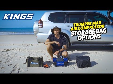 Adventure Kings Thumper Max Air Compressor Storage Bag Options