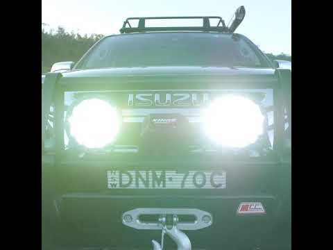 "Get Genuine Osram Domin8x Driving Lights in a 7"" Size!"