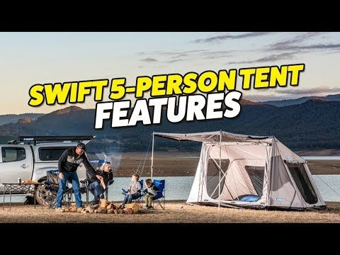 Adventure Kings Swift 5 Person Tent Features