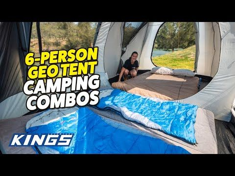 Adventure Kings 6 Person Geo Tent Camping Combos