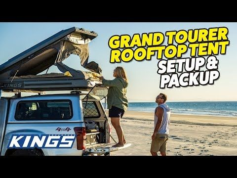 Grand Tourer Rooftop Tent Setup and Packup
