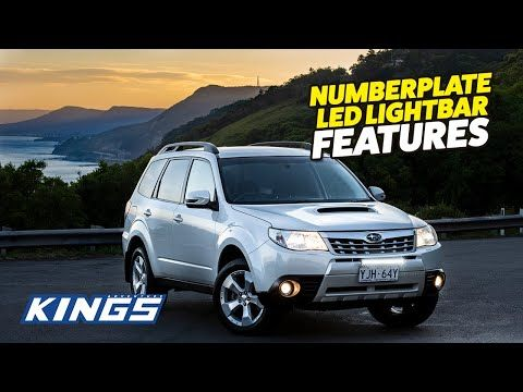 Adventure Kings Numberplate Lightbar Features