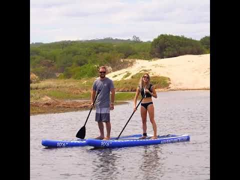 Have more fun with your partner this weekend with the Adventure Kings Stand Up Paddle Board