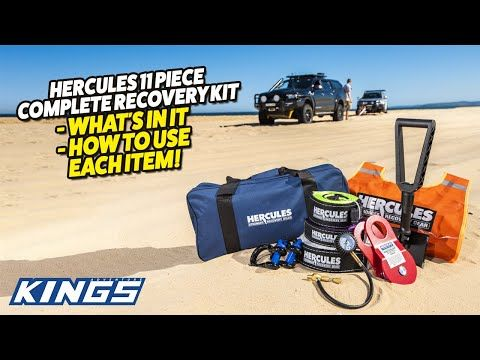 Hercules 11 Piece Complete Recovery Kit - What's In It, and How to Use it!