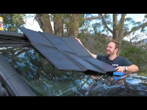Adventure Kings 200W Solar Blanket with MPPT Regulator Features