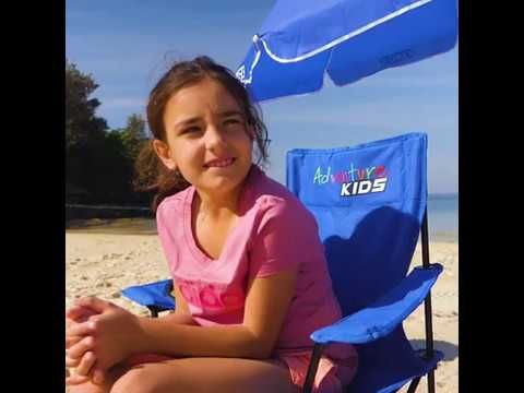 Features of the Kids Camp Chair from Adventure Kings!