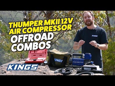 Adventure Kings Thumper MkIII 12v Air Compressor Offroad Combos