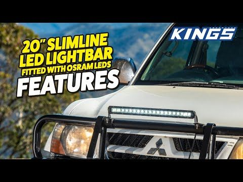 Adventure Kings 20'' Slimline LED Lightbar Features