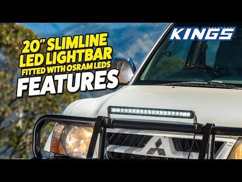 Adventure Kings 20'' Slimline LED Lightbar Features