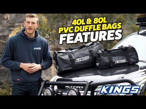 NEW Range of Kings Heavy Duty Duffle Bags | 2 sizes available – built tough & water resistant