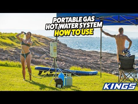 How to use the Kings Gas Hot Water System