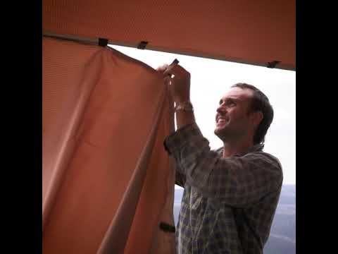 Adventure Kings Side Awnings only take 30 seconds to set up and give you heaps of Shelter!