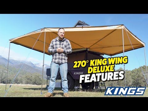 Adventure Kings 270° King Wing Deluxe Features