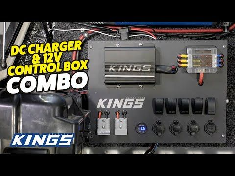 Adventure Kings DC Chargers & 12v Control Box Combo