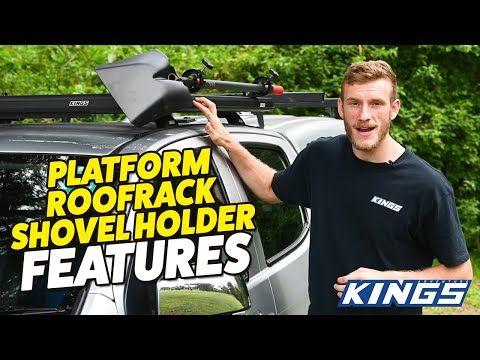 Adventure Kings Platform Roofrack Shovel Holders Features