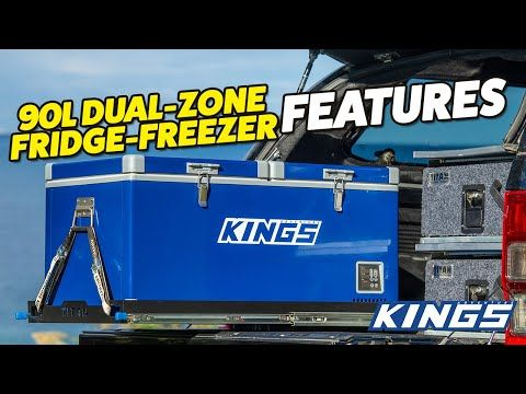 Adventure Kings 90L Dual Zone Fridge Freezer Features
