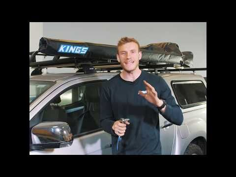 Here's how easy it is to install your Adventure Kings 2x3m Awning