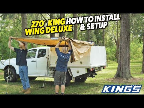 Adventure Kings 270° King Wing Deluxe How to Install & Setup