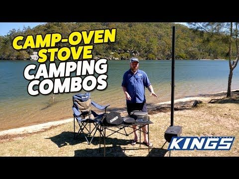 Adventure Kings Camp Oven Stove Camping Combos