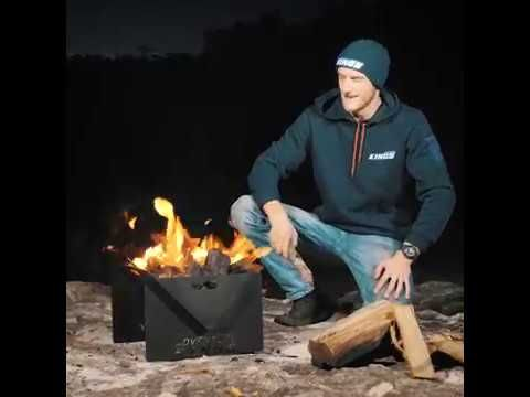 Favourite new camping gear - The Adventure Kings Fire Pit