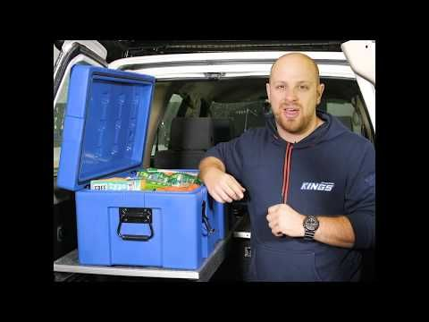 Keep all your gear dry, safe and easy to get to with the Kings 78L Storage Box!