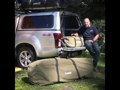 Adventure Kings Canvas Bags