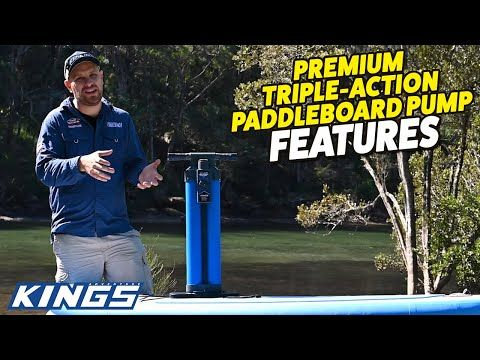 Adventure Kings Premium Triple Action Paddleboard Pump Features