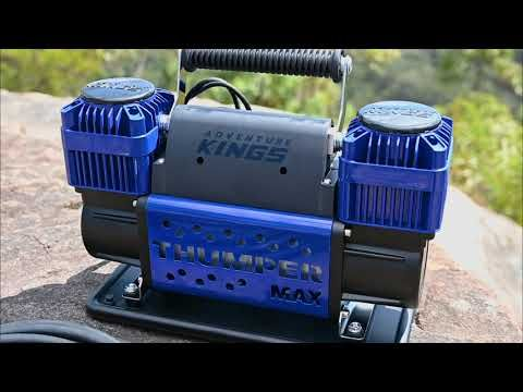 Thumper Max MKII Air Compressor Ultra Fast Tyre Inflation