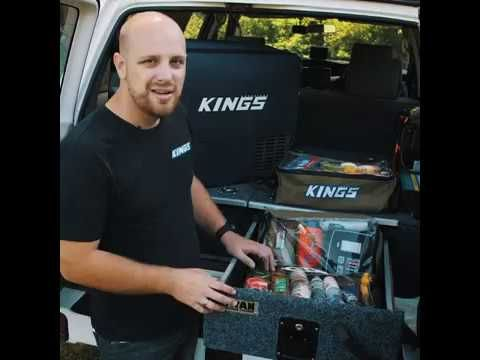 How to transform your Rear Drawer Setup with Clear Top Canvas Bags from Adventure Kings!