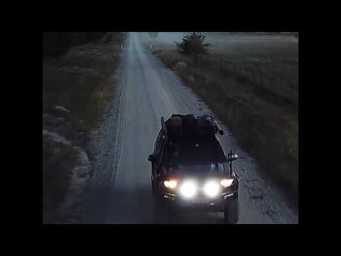 """9"""" Osram Domin8r X Driving Lights Features from Adventure Kings!"""