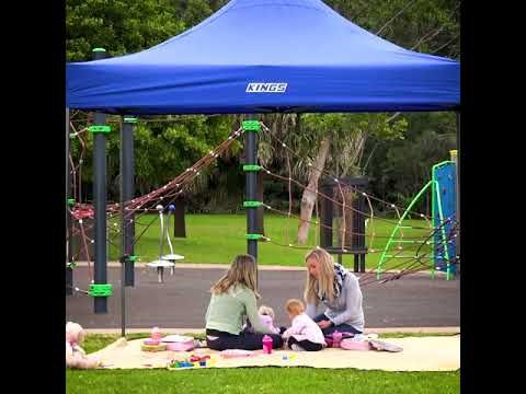 Kings Gazebo's are UPF50+ Rated!