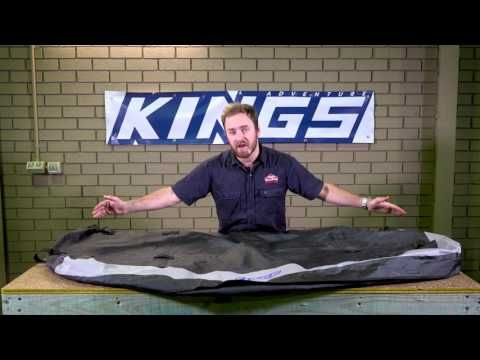 Adventure Kings Premium Roof Top Bag