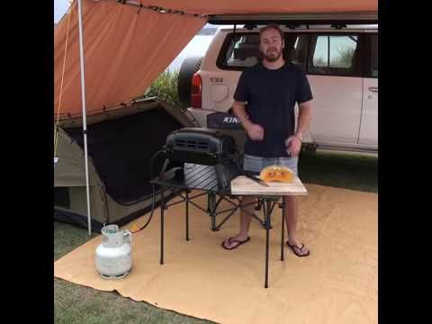 Transform Your Campsite with an Adventure Kings Roll-Up Table