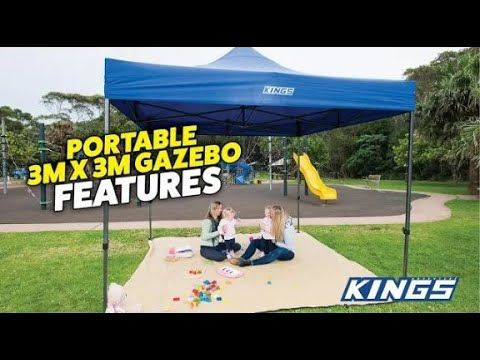 Adventure Kings Gazebo features - SO WELL BUILT AND AFFORDABLE!