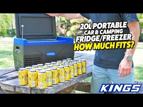 Adventure Kings 20L Portable Car & Camping Fridge/Freezer - How Much Fits?