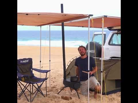 Best way to keep smoke out of your campsite – Adventure Kings Camp oven/stove