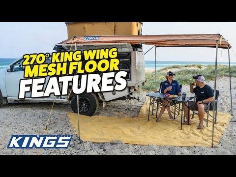 Adventure Kings 270° King Wing Mesh Floor Features