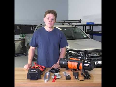 Quick & Easy DIY video on how to install a Domin8r winch onto your 4WD