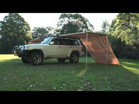 See how easy it is to set up a Kings Awning Wall!