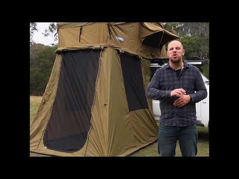 The Adventure Kings Roof Top Tent is more multipurpose than ever before!