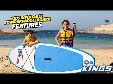 Adventure Kings Kids Inflatable Standup Paddleboard Features