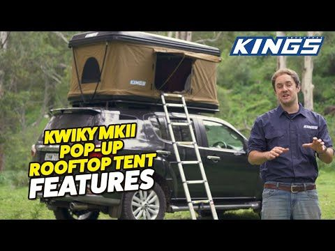 Introducing Kings Kwiky MKII Hard Shell Rooftop Tent | NEW Bracing System + 2-min Setup