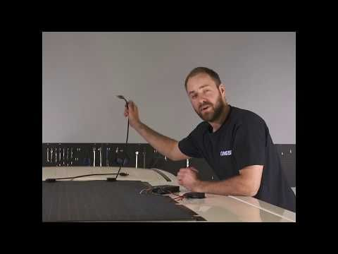 How to Install the Kings Semi-Flexible Solar Panel