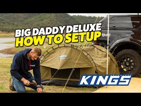 Big Daddy Deluxe Swag - How to Setup