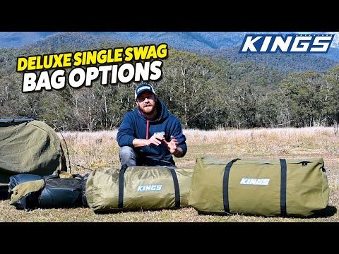 Adventure Kings Deluxe Single Swag Bag Options