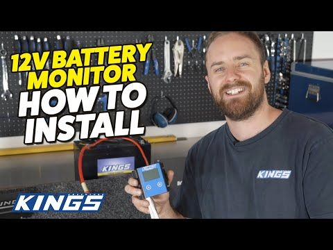 How to Install the Kings 12V Battery Monitor