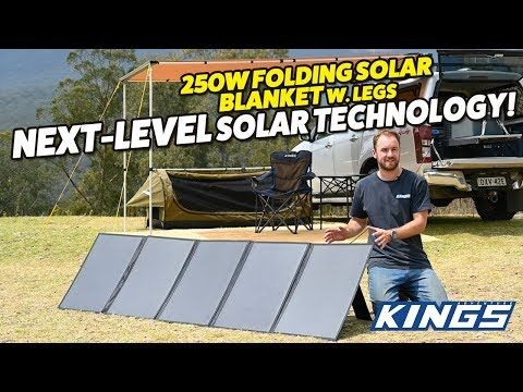 Adventure Kings 250W Folding Solar Blanket Next Level Technology